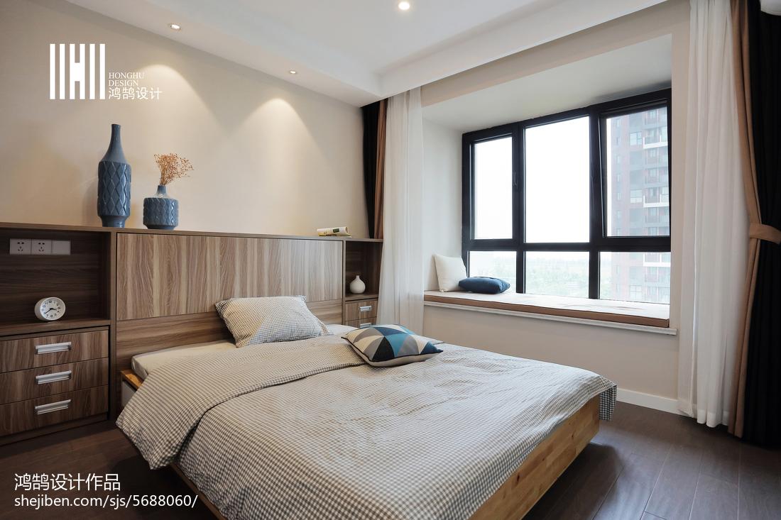 精选85平米二居卧室现代实景图片欣赏