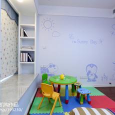 热门108平米三居儿童房现代装修效果图