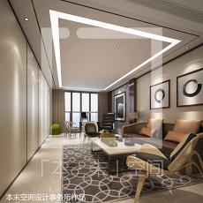 欧式别墅大面积客厅装修效果图片
