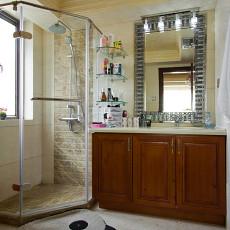 精选面积122平欧式四居卫生间装修设计效果图片