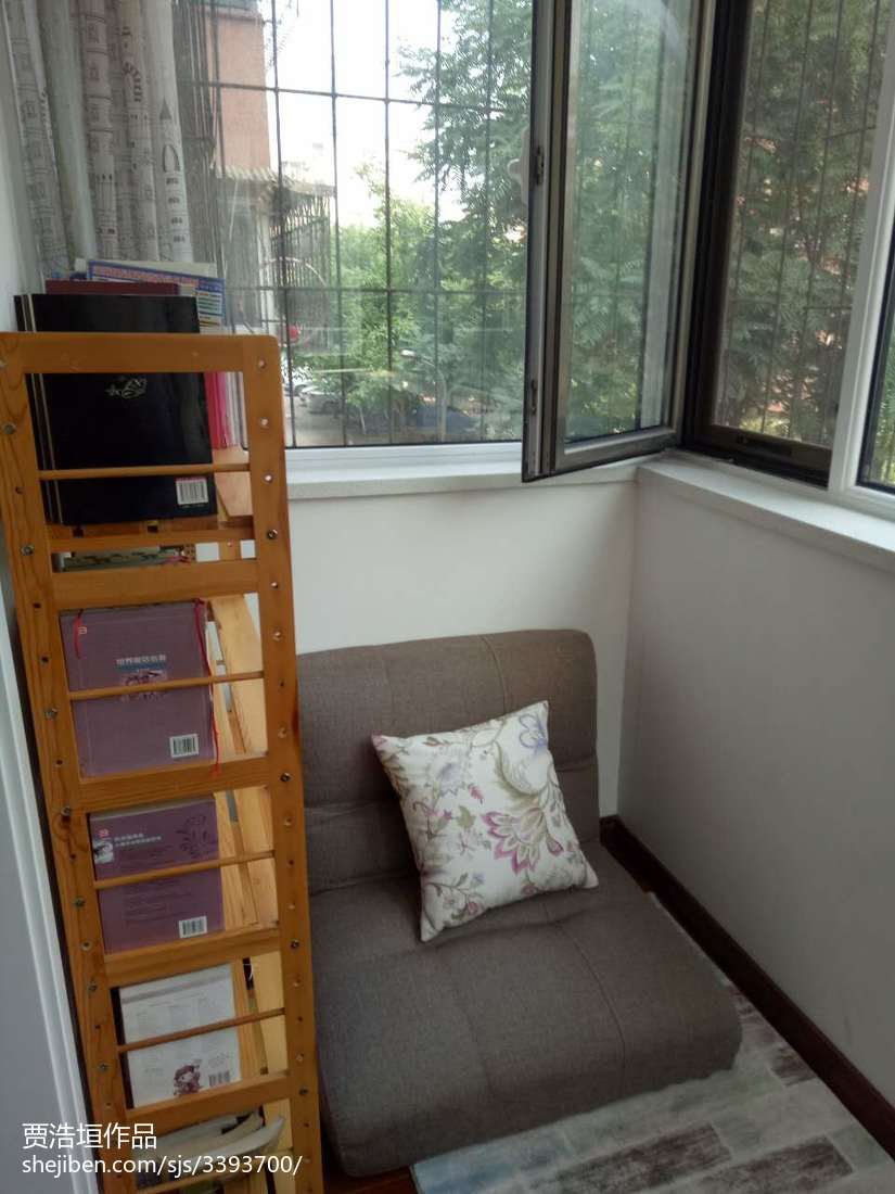 时尚田园风格卧室窗帘装修效果图