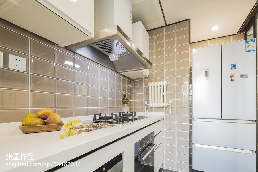 精選中式三居廚房裝飾圖片