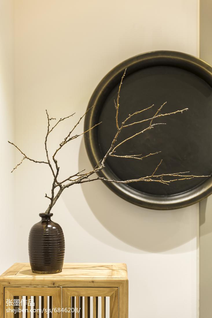温馨127平中式三居装饰图片