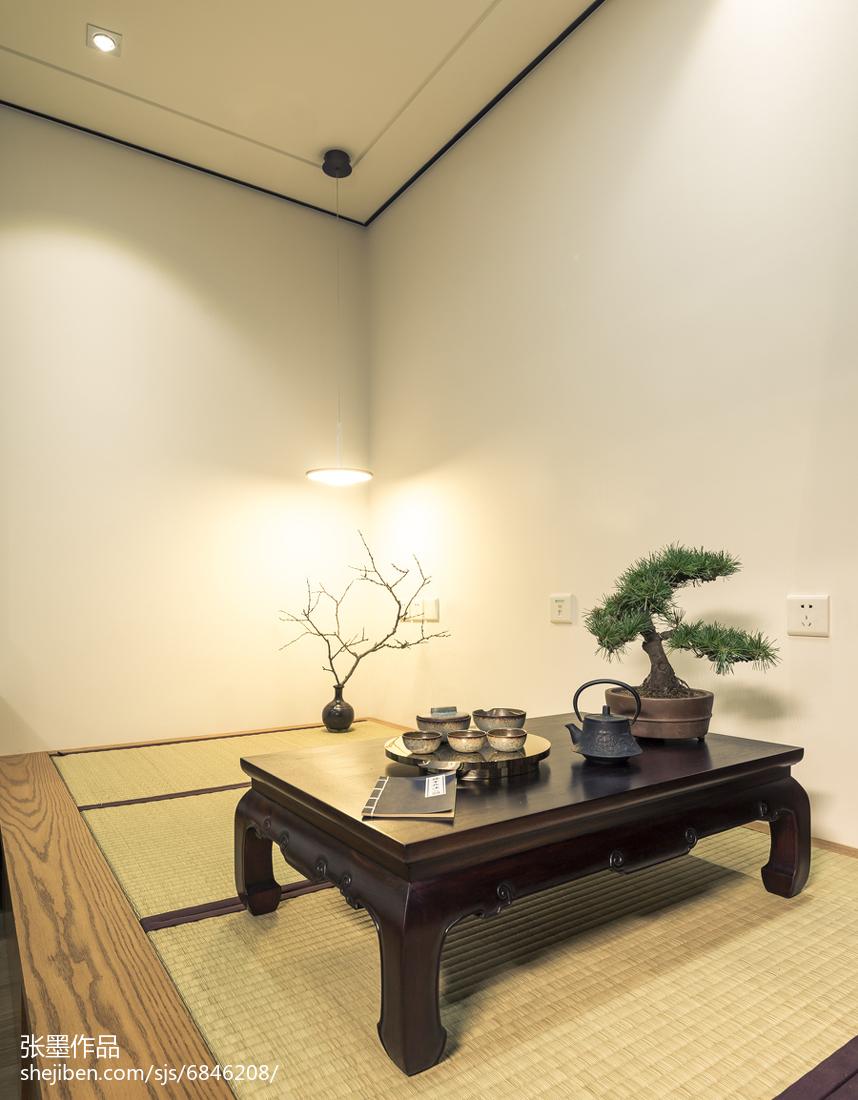 精美96平米三居卧室中式装饰图片欣赏