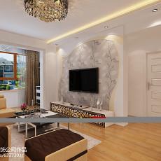 精选二居客厅简约装修设计效果图