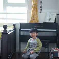 精美101平米三居儿童房美式装修欣赏图片