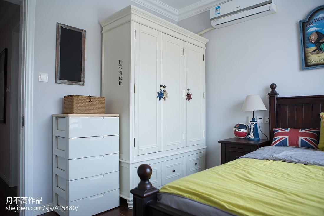 美式风格儿童房衣柜设计