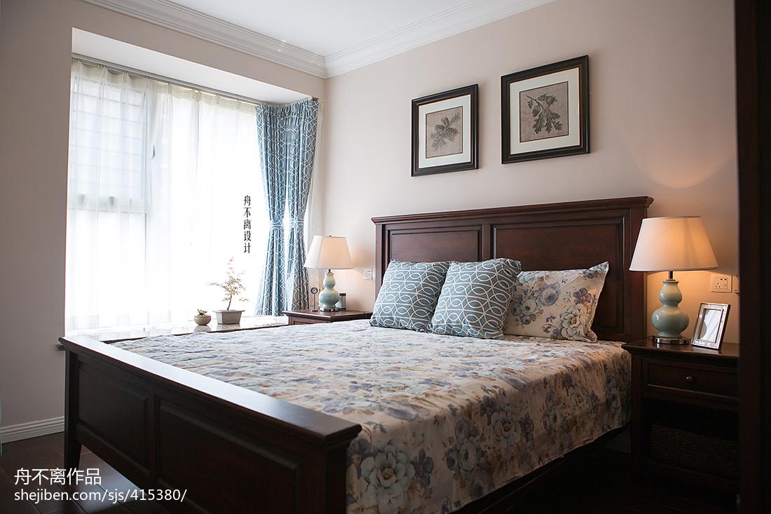 典雅美式風格臥室裝修