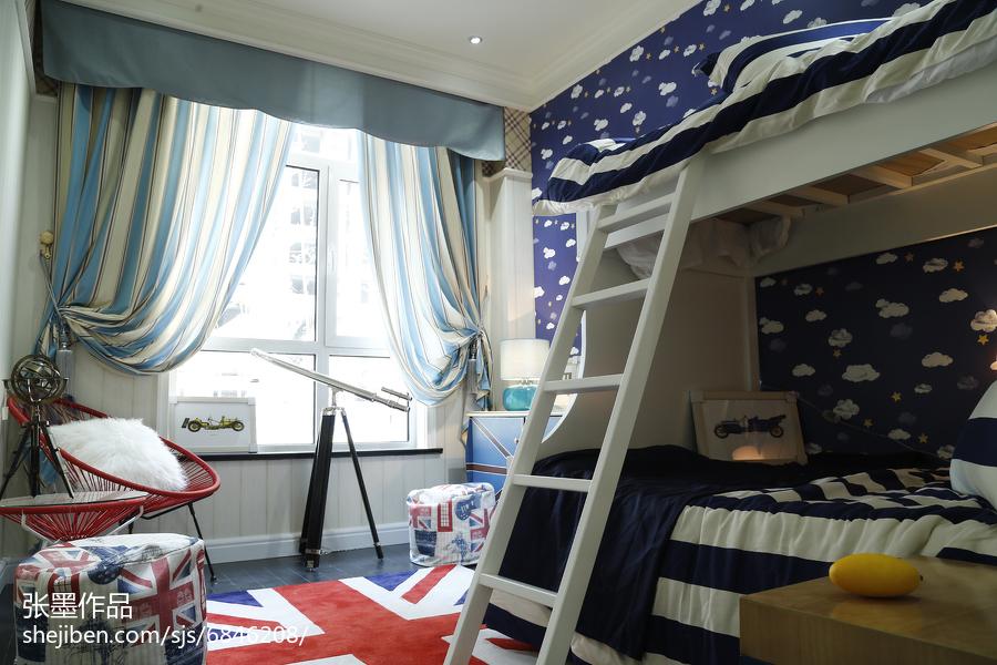 精选儿童房欧式装修设计效果图