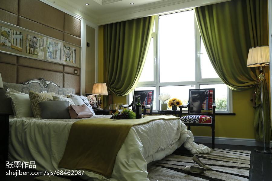精美卧室欧式装修实景图