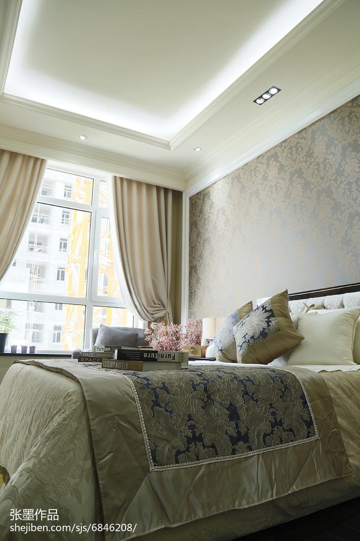卧室床头背景墙纸