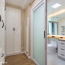 2018精选大小98平美式三居卫生间装修欣赏图片大全