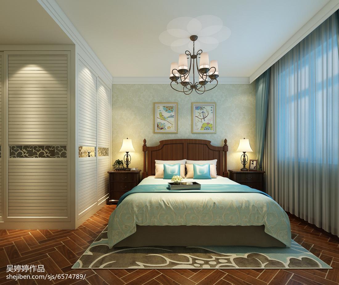 热门混搭三居卧室装饰图