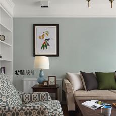 优雅115平美式三居客厅装饰图