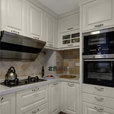大气79平美式三居厨房美图