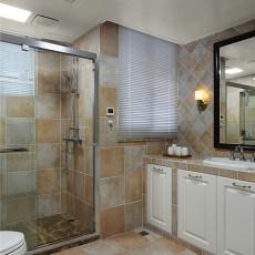 浪漫118平美式三居卫生间设计美图