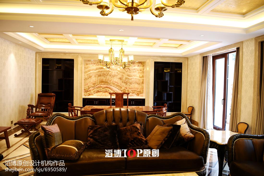 热门136平米美式别墅装修设计效果图