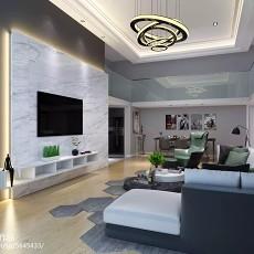 精选现代复式客厅装修图片