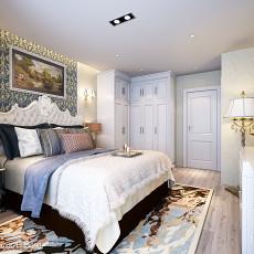 2018面积119平欧式四居卧室装修效果图