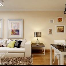 2018精选83平方二居客厅欧式装修设计效果图片欣赏