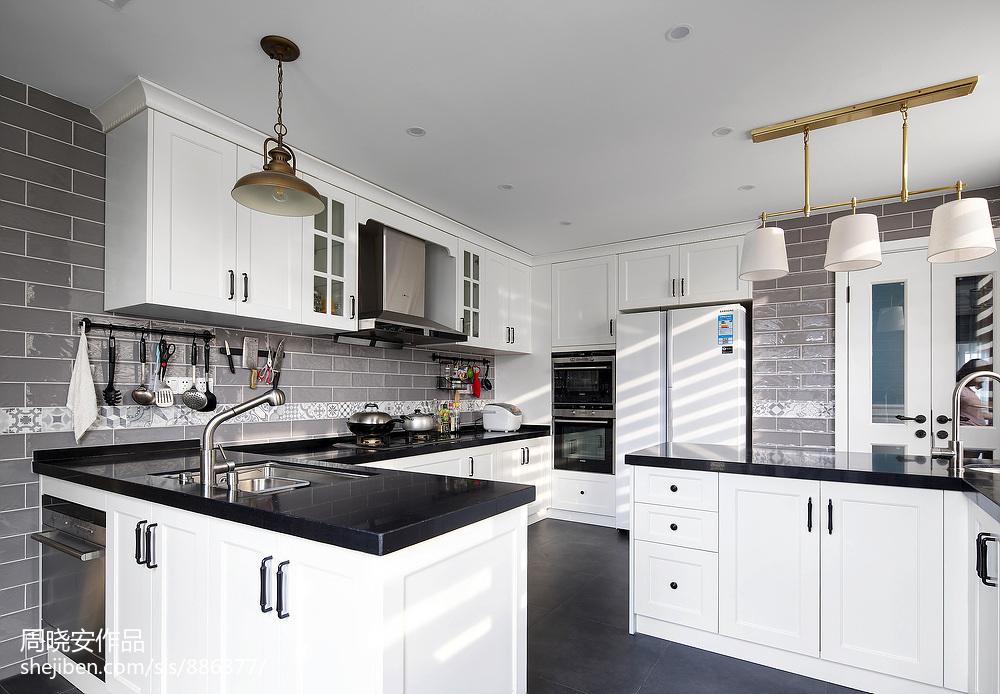 精致65平美式复式厨房设计案例