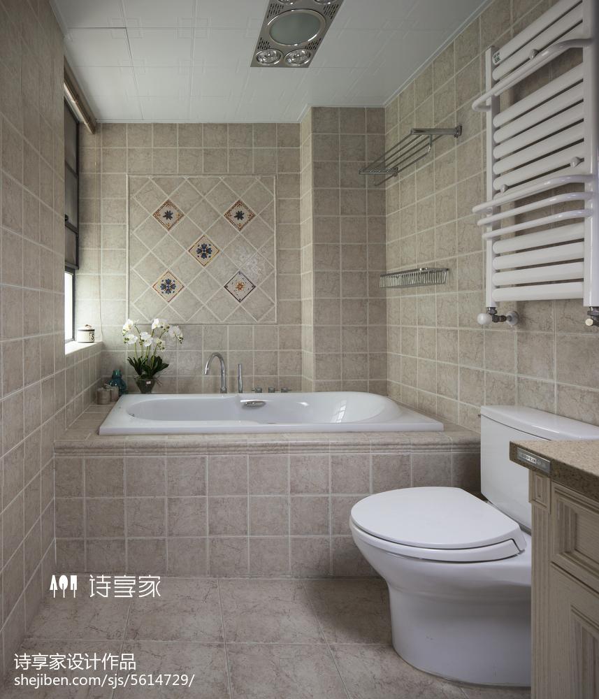 現代美式風格衛浴設計