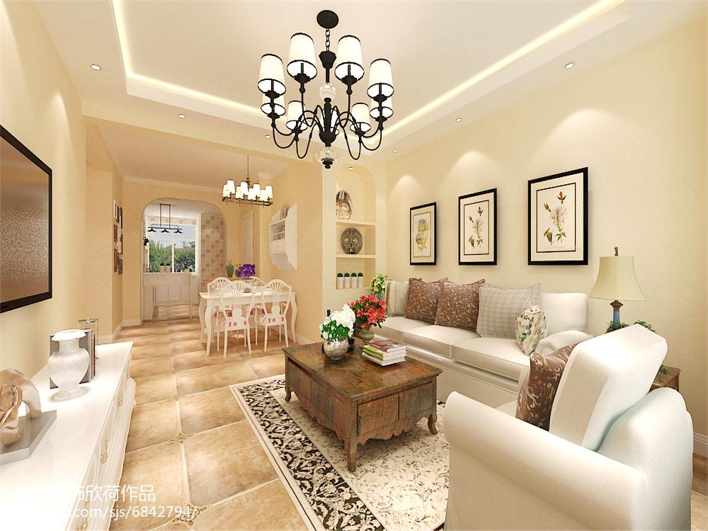 现代简约二居室设计