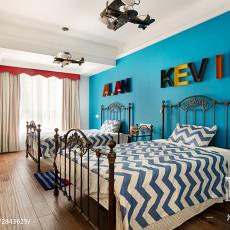 热门102平米三居儿童房新古典装饰图片欣赏