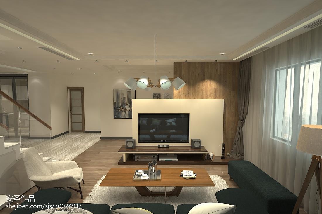 现代极简主义风格吊灯设计