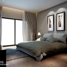 精美97平方三居卧室现代装饰图片