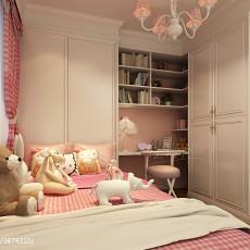 欧式新古典风格四居室装修图片大全