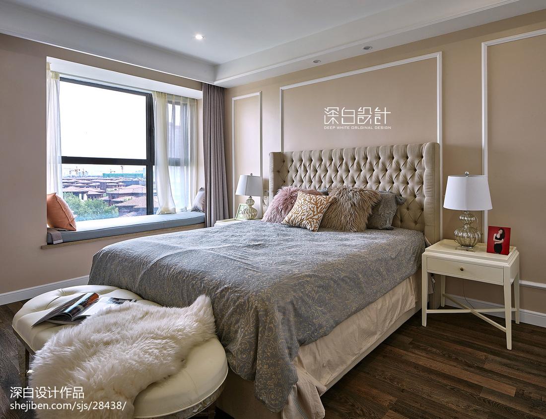 溫馨美式風格家居臥室裝修