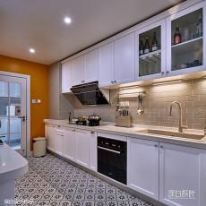 2018精选135平米四居厨房美式装修图