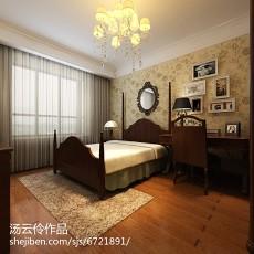 95平米三居卧室新古典装修效果图片大全