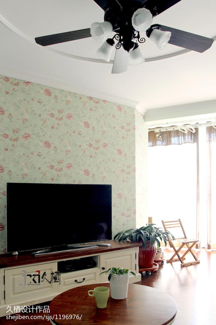 优雅54平美式二居装饰美图