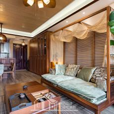 东南亚风格装修设计二居室图片