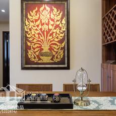东南亚风格80平米二居室装修效果图大全