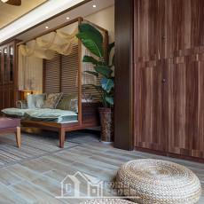 东南亚风格装修设计二居室图片大全欣赏