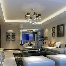 精美面积106平现代三居客厅装修欣赏图