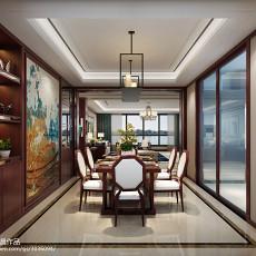 古典中式风格三室两厅两卫装修效果图