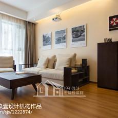 精选84平方二居客厅现代装修设计效果图