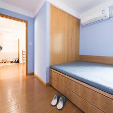 2018面积87平宜家二居卧室装修效果图