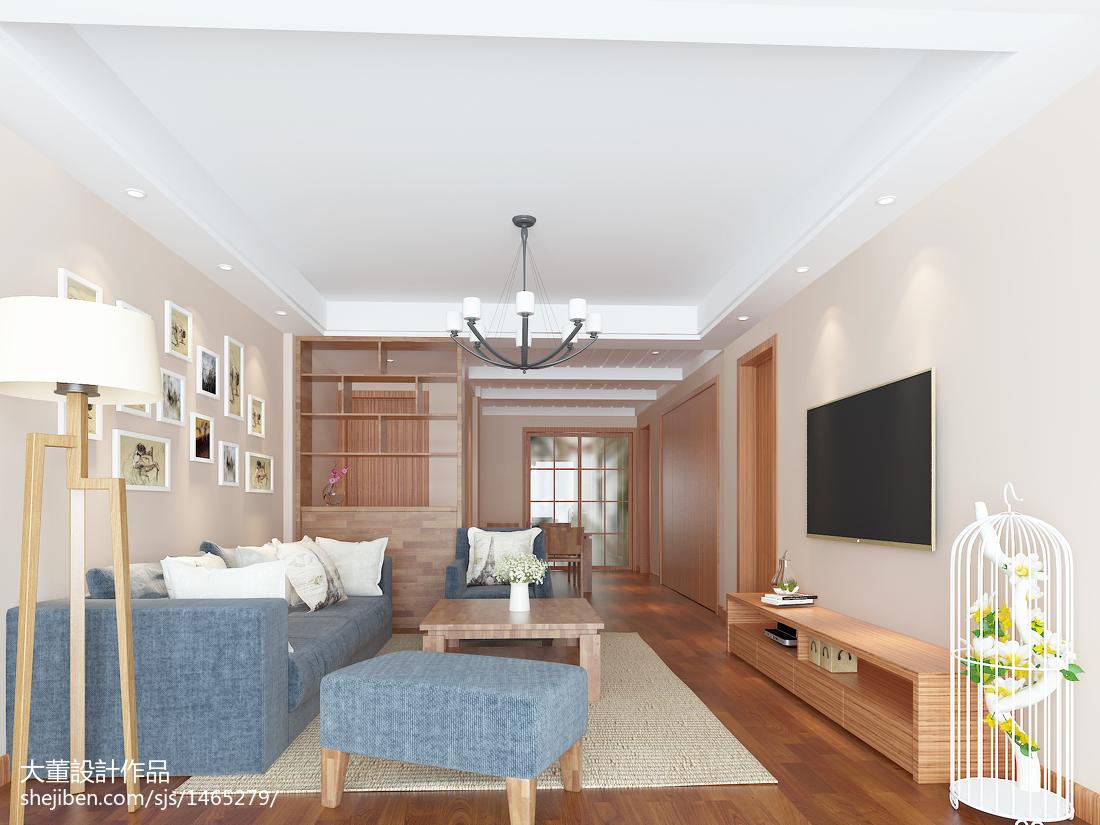 热门面积90平宜家二居客厅装修实景图片大全
