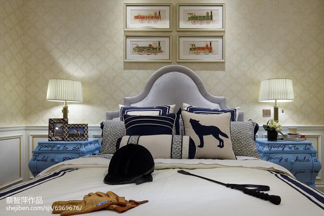 精美欧式卧室效果图
