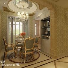 二居餐厅欧式装饰图片欣赏