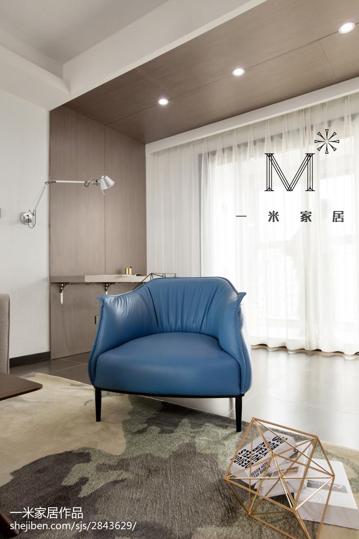 精选90平方二居客厅现代实景图片欣赏