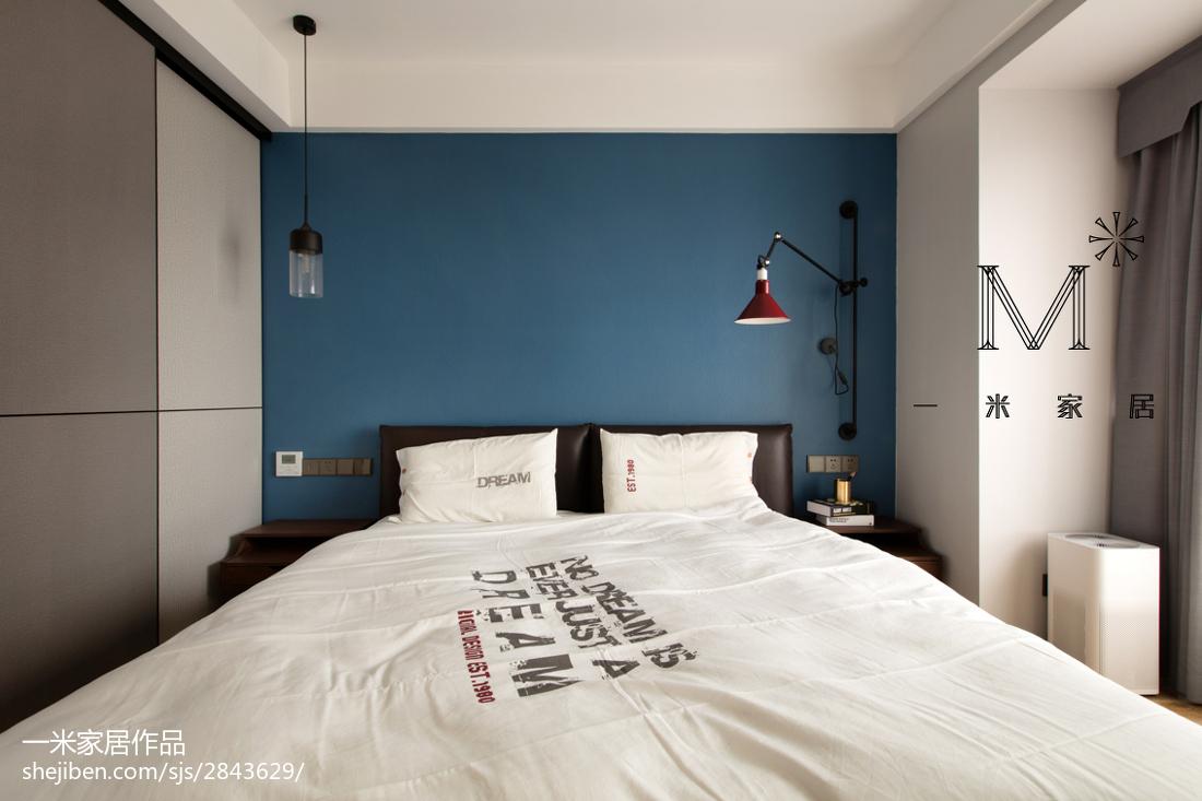 精选74平米二居卧室现代效果图片大全