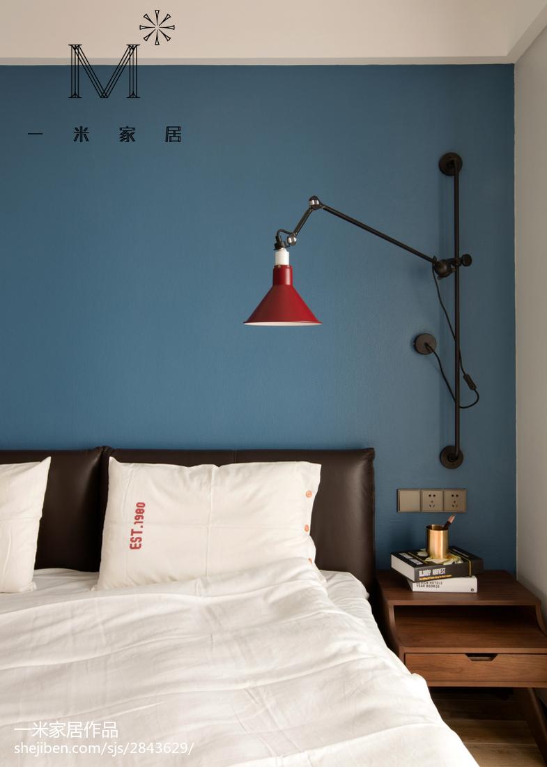 热门面积77平现代二居卧室效果图片大全