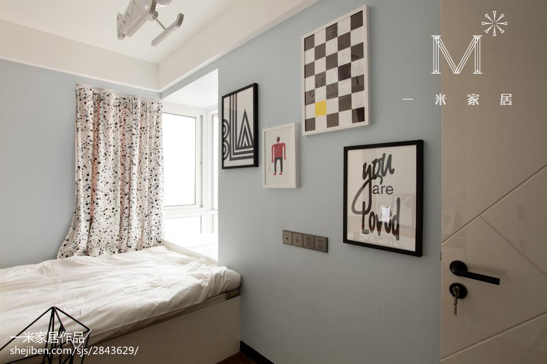 热门二居儿童房现代装修效果图片欣赏