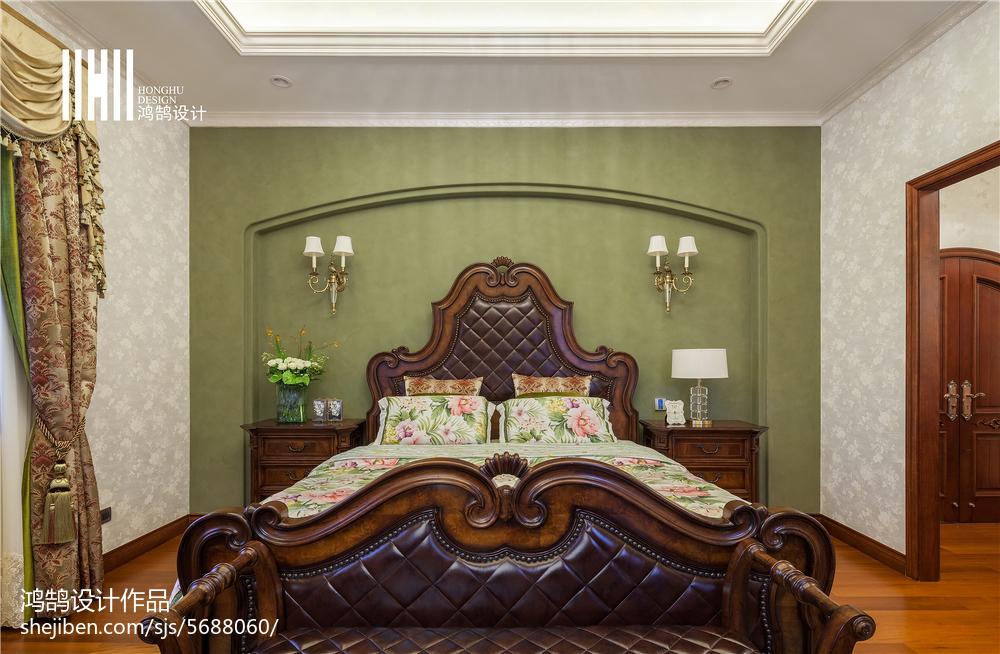 休閑美式風格臥室裝修
